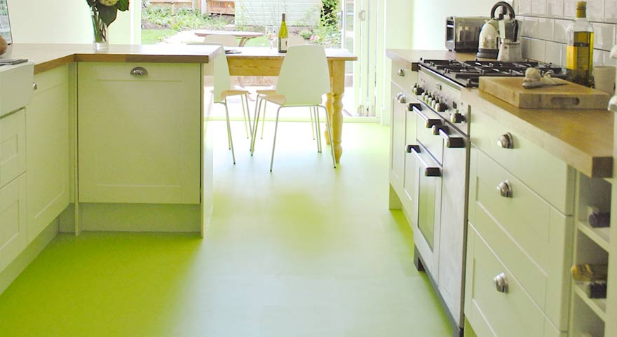 Yateley Kitchen Fitters - Pistachio Green